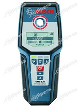 BOSCH Detector de Materiales digital GMS120 120mm