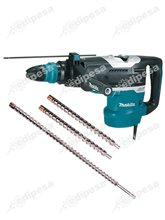 MAKITA Rotomartillo SDS MAX HR5212C 1510W 19.1J + 3 brocas