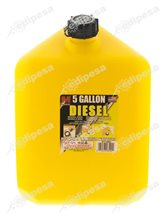 MIDWEST CAN Tanque p/petroleo Diesel 8500 5.0gal d/plástico