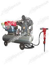 DYNAMIC Compresora diesel 28.0HP 60gal(H) 101PSI 3C(W) 113CFM c/guarda